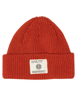 ORANGE RED MENS ACCESSORIES DEUS EX MACHINA HEADWEAR - DMF87380ORED