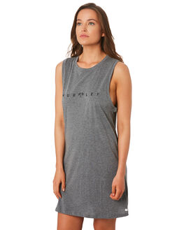 HEATHER GREY WOMENS CLOTHING HURLEY DRESSES - CK0690-050