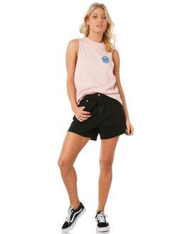 PEONY WOMENS CLOTHING SANTA CRUZ SINGLETS - SC-WTC8638PEO