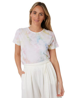MULTI WOMENS CLOTHING TIGERLILY TEES - T305000MLT