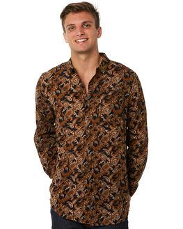 PAISLEY GOLD MENS CLOTHING ROLLAS SHIRTS - 152603412