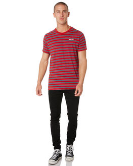 RED BLUE OUTLET MENS ROLLAS TEES - 15649B2868