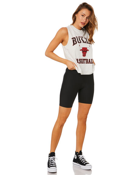 WHITE MARLE WOMENS CLOTHING MITCHELL AND NESS SINGLETS - MNCG0066WMRL