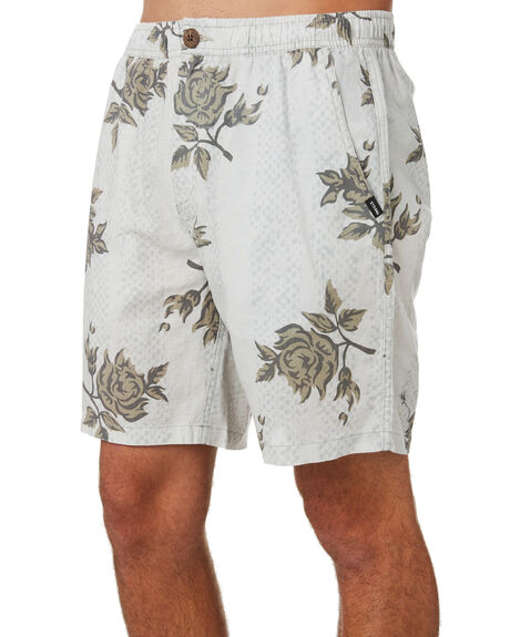 LIGHT GREY MENS CLOTHING THRILLS SHORTS - TA20-308GLGRY