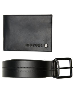 BLACK MENS ACCESSORIES RIP CURL WALLETS - BWLLF20090