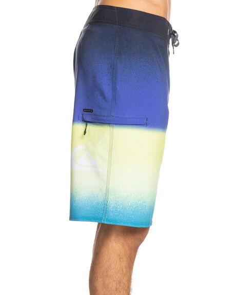 NAUTICAL BLUE MENS CLOTHING QUIKSILVER BOARDSHORTS - EQYBS04529-BQR6