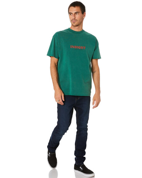 BOTTLE GREEN MENS CLOTHING INSIGHT TEES - 1000086725GRN
