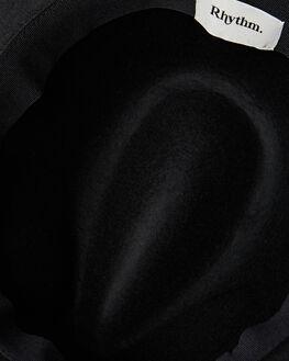 BLACK MENS ACCESSORIES RHYTHM HEADWEAR - ACC00M-HW01-BLK