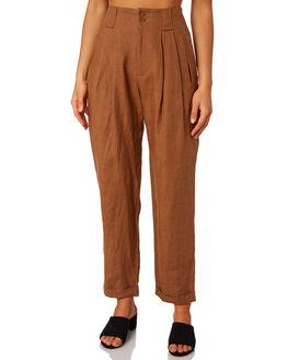 BRONZE WOMENS CLOTHING THRILLS PANTS - WTH9-400CBRO