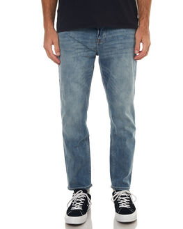 CREW BLUE MENS CLOTHING CHEAP MONDAY JEANS - 0552211CRWBL