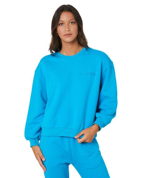 BLUE WOMENS CLOTHING SNDYS JUMPERS - SET030BLU