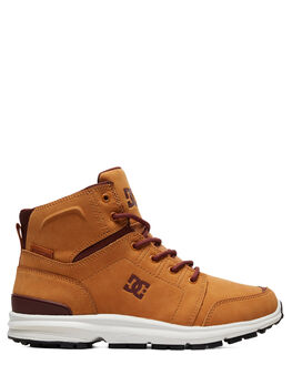 WHEAT MENS FOOTWEAR DC SHOES BOOTS - ADYB700026-WE9
