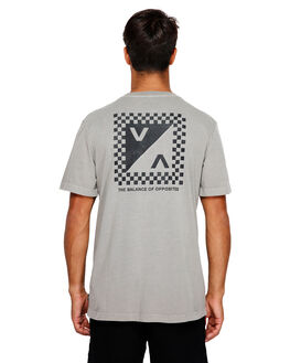 OVERCAST MENS CLOTHING RVCA TEES - RV-R191057-OVC