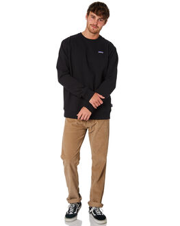 BLACK MENS CLOTHING PATAGONIA JUMPERS - 39543BLK