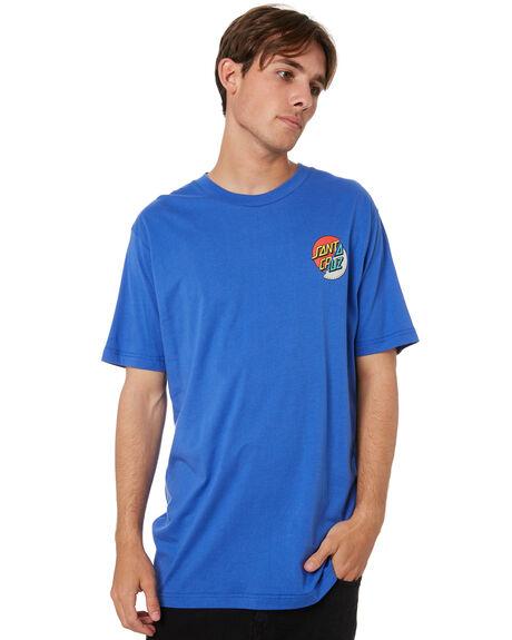 NEW BLUE MENS CLOTHING SANTA CRUZ TEES - SC-MTA0862NEWBLUE