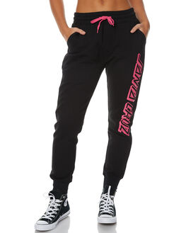 BLACK WOMENS CLOTHING SANTA CRUZ PANTS - SC-WPC7396BLK