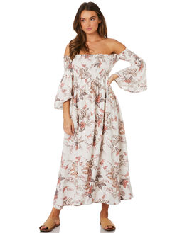 IVORY WOMENS CLOTHING TIGERLILY DRESSES - T391447IVO