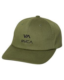FATIGUE MENS ACCESSORIES RVCA HEADWEAR - R383561FAT