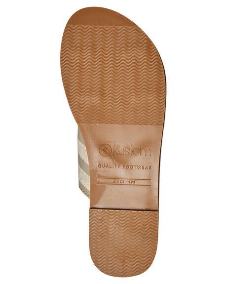STRIPE WOMENS FOOTWEAR KUSTOM SLIDES - 4684207STRP