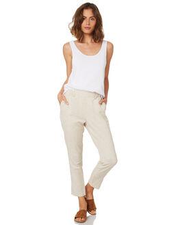 NATURAL WOMENS CLOTHING BETTY BASICS PANTS - BB807HS18NATUR