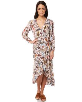 SHELL WOMENS CLOTHING TIGERLILY DRESSES - T381422SHE