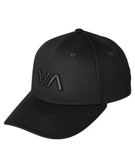BLACK WOMENS ACCESSORIES RVCA HEADWEAR - R283561BBLK