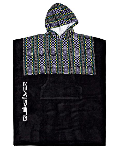 DUSTED PERI MENS ACCESSORIES QUIKSILVER TOWELS - AQYAA03177-PMG0