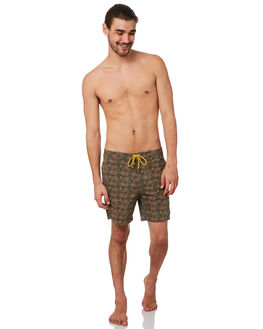 MULTI MENS CLOTHING DEUS EX MACHINA BOARDSHORTS - BDMP82559MUL