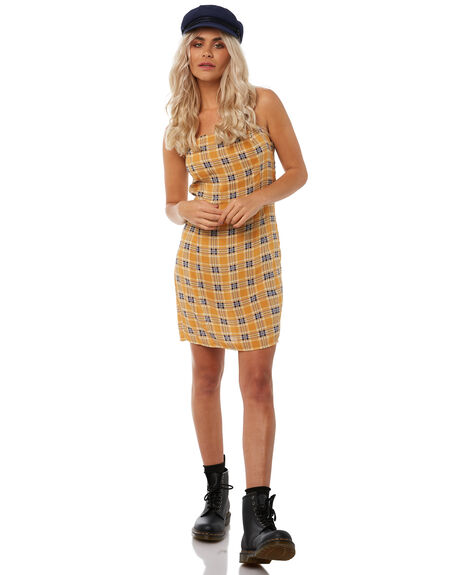 YELLOW OUTLET WOMENS INSIGHT DRESSES - 5000002725YEL