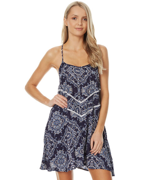 MIDNIGHT SCARF WOMENS CLOTHING O'NEILL DRESSES - 4021609MISC