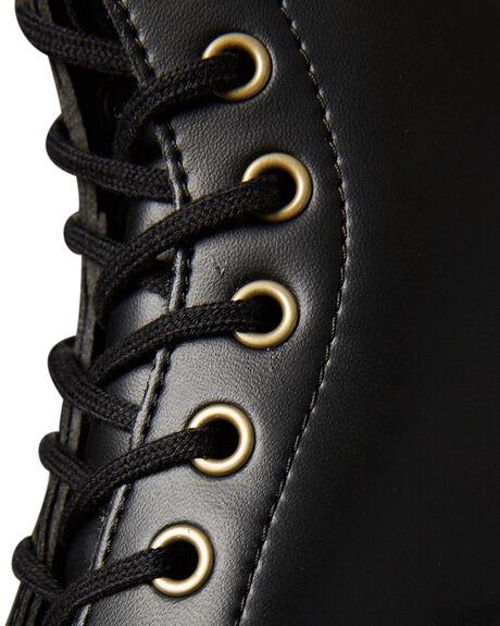 BLACK WOMENS FOOTWEAR DR. MARTENS BOOTS - SS14045001BLKW
