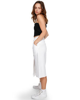 WHITE WOMENS CLOTHING RVCA SKIRTS - RV-R291831-WHT