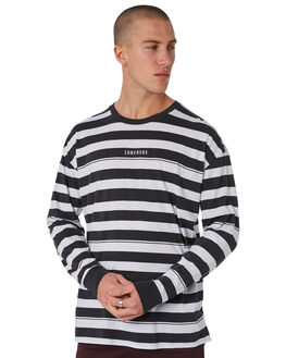 VINTAGE BLACK WHITE MENS CLOTHING ZANEROBE TEES - 137-METVBLK