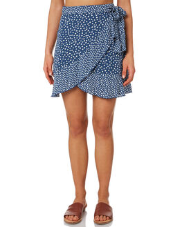 NAVY SPOT WOMENS CLOTHING ELWOOD SKIRTS - W9361559X