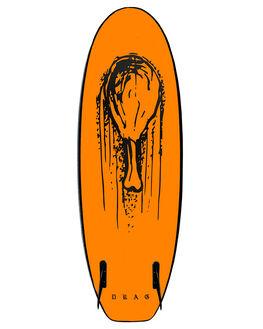 MIDNIGHT ORANGE SURF SOFTBOARDS DRAG FUNBOARD - DBCDRUMMIDOG