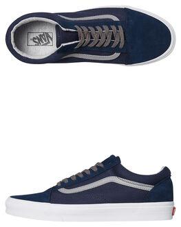 DRESS BLUE MENS FOOTWEAR VANS SKATE SHOES - VNA38G1UNJDBLUE