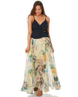 LEMON WOMENS CLOTHING TIGERLILY SKIRTS - T392276LEM