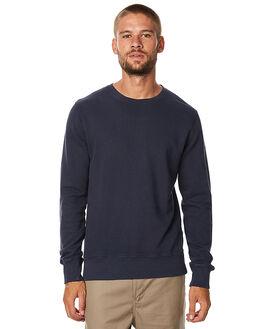 NAVY MENS CLOTHING NUDIE JEANS CO JUMPERS - 150305B25
