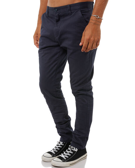 NAVY MENS CLOTHING ACADEMY BRAND PANTS - 18W104NVY