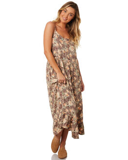LEOPARD FLORAL WOMENS CLOTHING O'NEILL DRESSES - 4821608LDF
