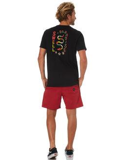 BLACK MENS CLOTHING SWELL TEES - S5183007BLACK