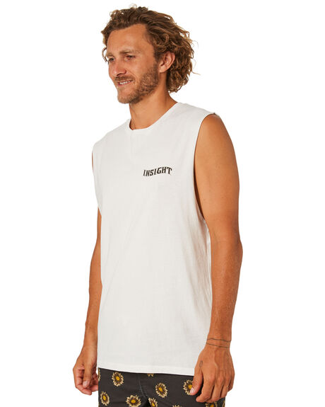 OFF WHITE MENS CLOTHING INSIGHT SINGLETS - 1000083861OFFWT