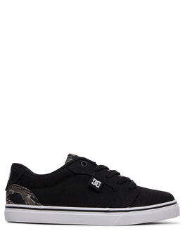 GREEN CAMOUFLAGE KIDS BOYS DC SHOES SNEAKERS - ADBS300246-CA6