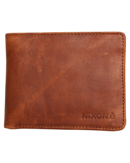 BROWN WASH MENS ACCESSORIES NIXON WALLETS - C23452424