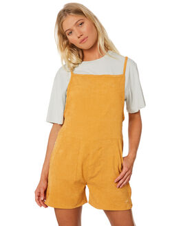 GOLD WOMENS CLOTHING RPM PLAYSUITS + OVERALLS - 8SWD05BGLD