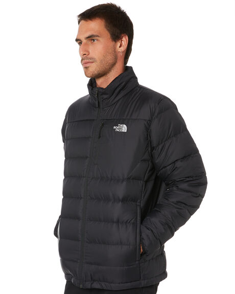 TNF BLACK MENS CLOTHING THE NORTH FACE JACKETS - NF0A2TCCJK3