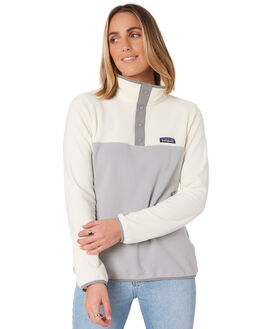 DRIFTY GREY WHITE WOMENS CLOTHING PATAGONIA JUMPERS - 26020DGWI