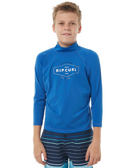 BLUE SURF RASHVESTS RIP CURL BOYS - WLY7HB0070