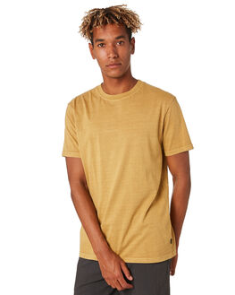 WASHED MUSTARD MENS CLOTHING RIP CURL TEES - CTESZ29769