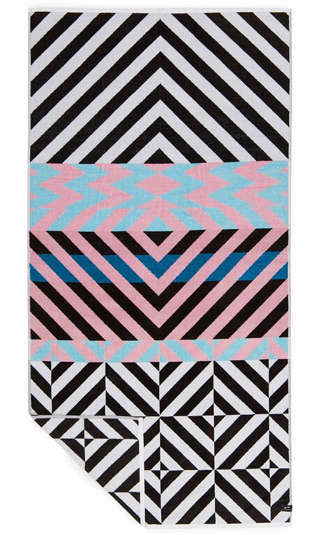 BLACK WOMENS ACCESSORIES SLOWTIDE TOWELS - ST089BLK